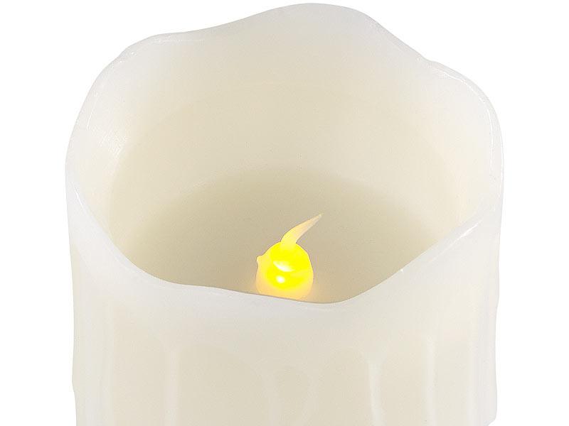 britesta adventskranz mit wei en led kerzen goldfarben geschm ckt. Black Bedroom Furniture Sets. Home Design Ideas