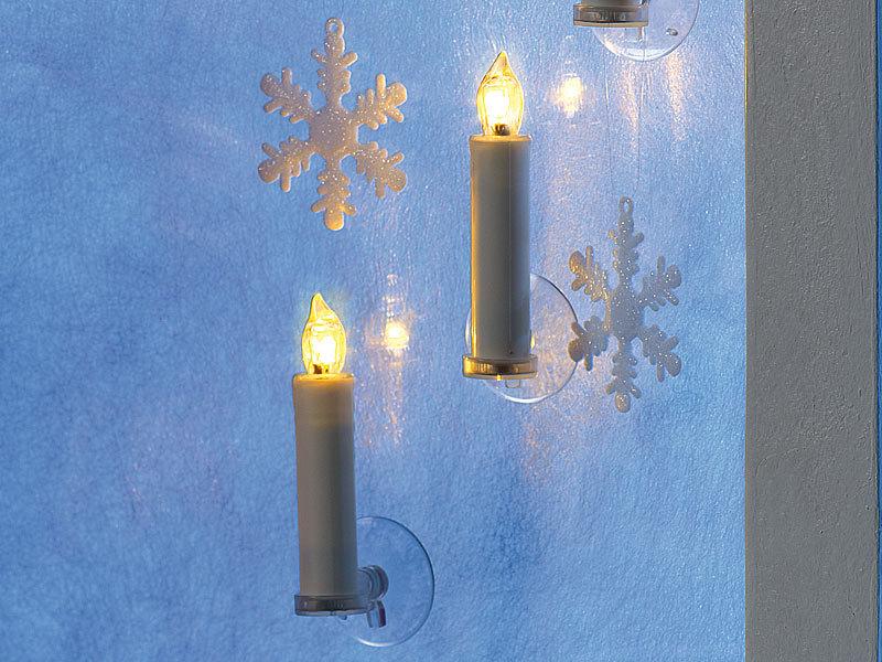 lunartec lichter weihnachtsbaum led weihnachtsbaumkerzen mit funk fernbedienung 20er set. Black Bedroom Furniture Sets. Home Design Ideas