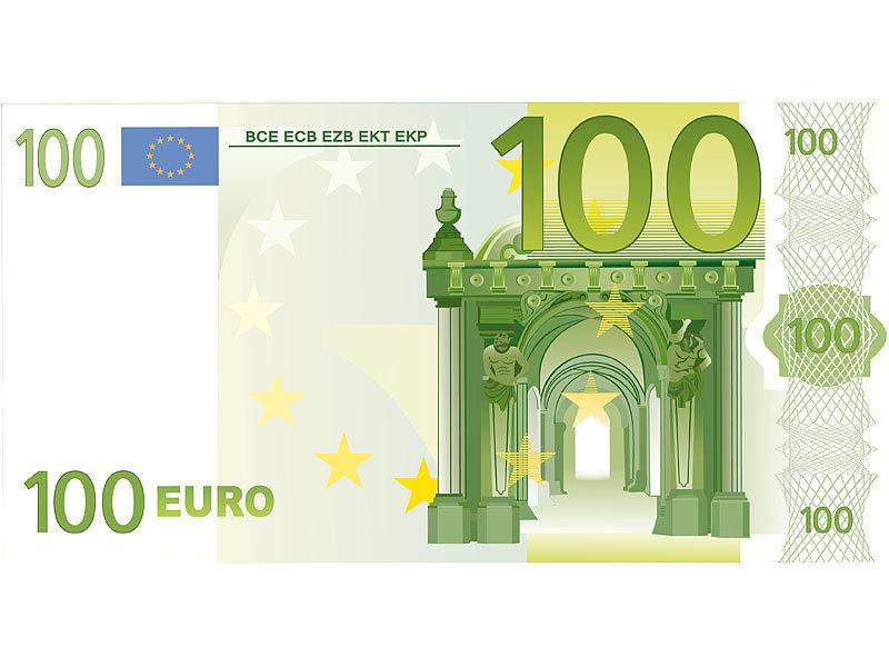 Pearl strandtuch 100 euro schein 180 x 90 cm for Wohnlandschaft 100 euro