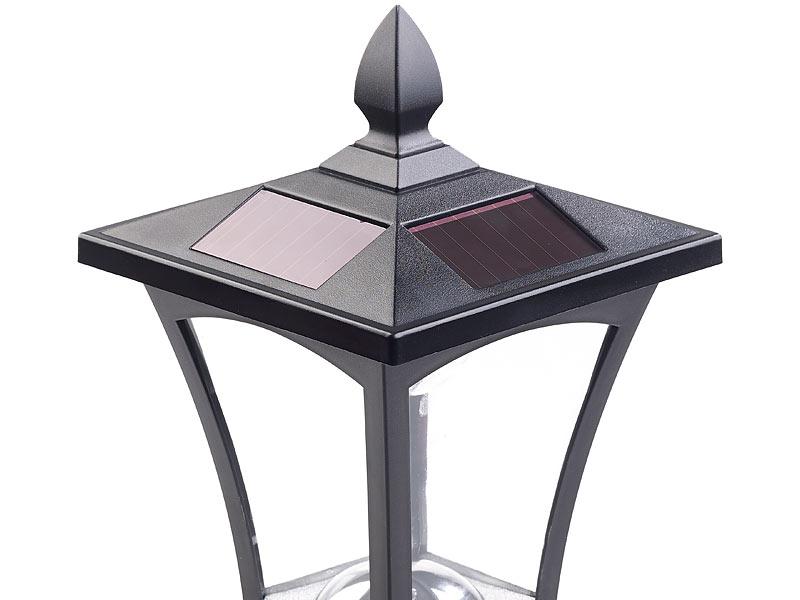 royal gardineer led solar wegeleuchten solar led. Black Bedroom Furniture Sets. Home Design Ideas