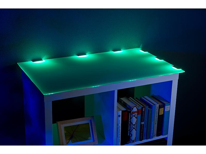 lunartec glaskantenbeleuchtung led glasbodenbeleuchtung. Black Bedroom Furniture Sets. Home Design Ideas