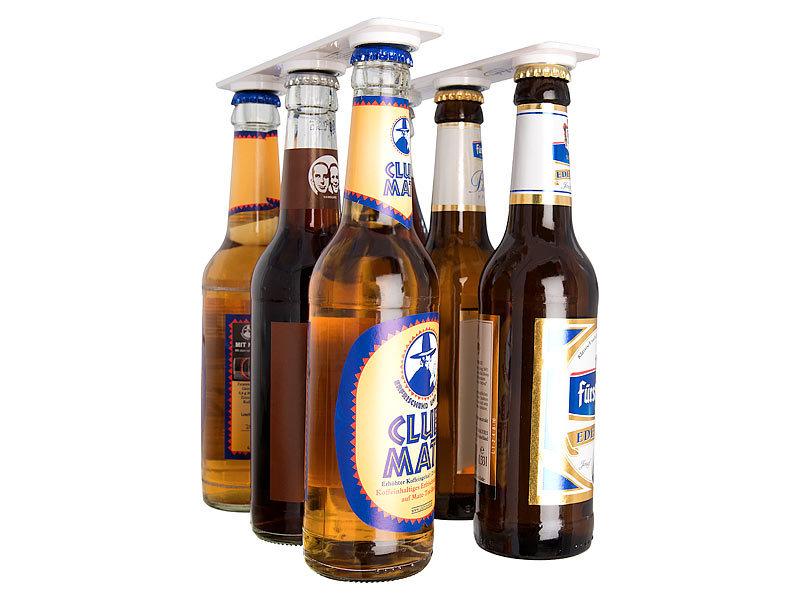 Kühlschrank Flaschenhalter Universal : Infactory flaschenhalter magnetischer flaschen und