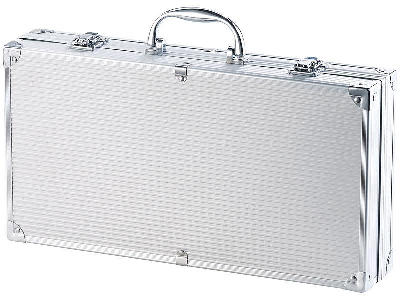 rosenstein s hne grill koffer 14 teiliges edelstahl. Black Bedroom Furniture Sets. Home Design Ideas