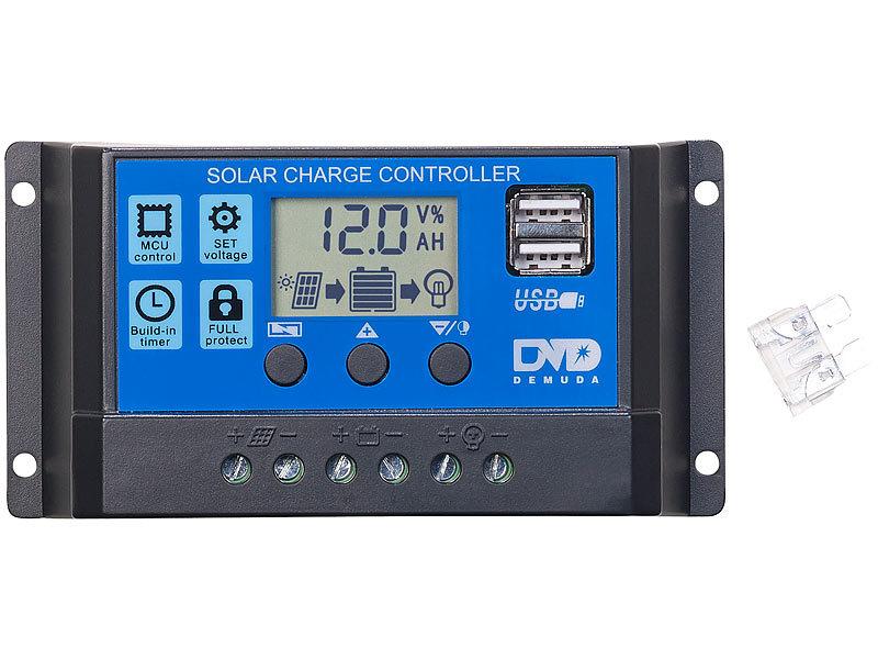 revolt Solar Controller 12V: Solar Laderegler für 1224 V