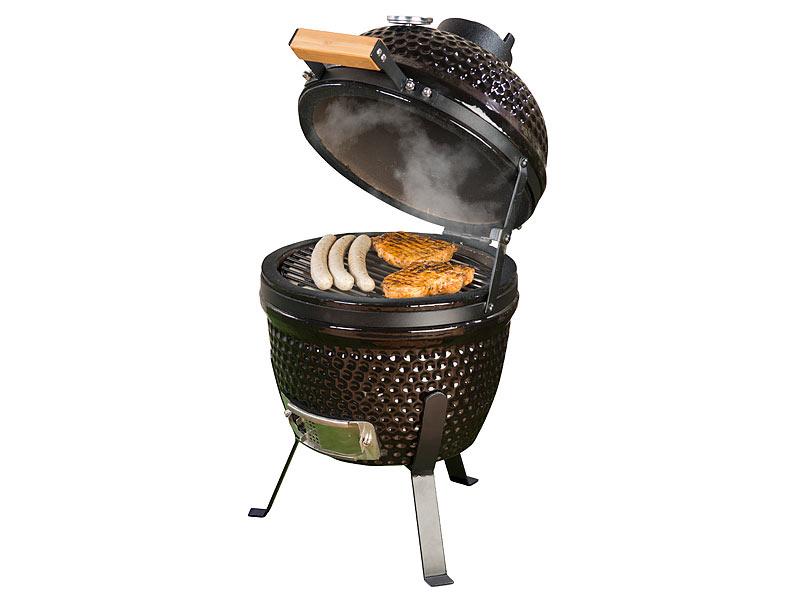 Keramik Elektrogrill Test : Rosenstein söhne keramik grill in kamado keramik kugelgrill