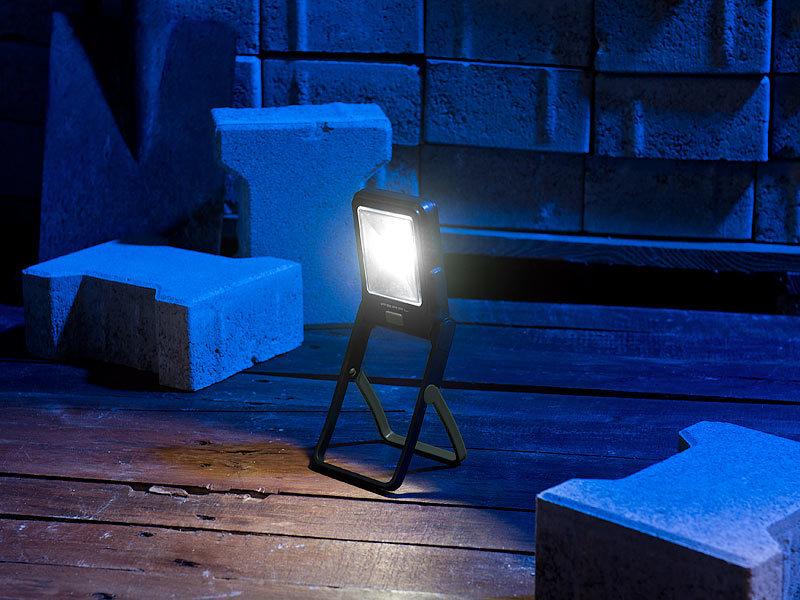 pearl arbeitslampe led arbeitsleuchte im baustrahler design mit 3 watt cob led 160 lumen. Black Bedroom Furniture Sets. Home Design Ideas