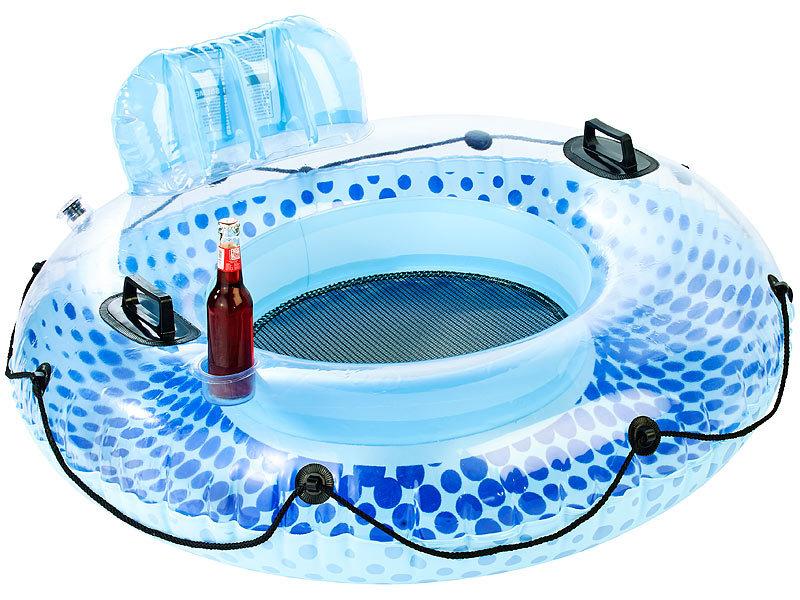 Infactory schwimmring erwachsene aufblasbarer schwimmring for Aufblasbarer pool mit sandfilteranlage