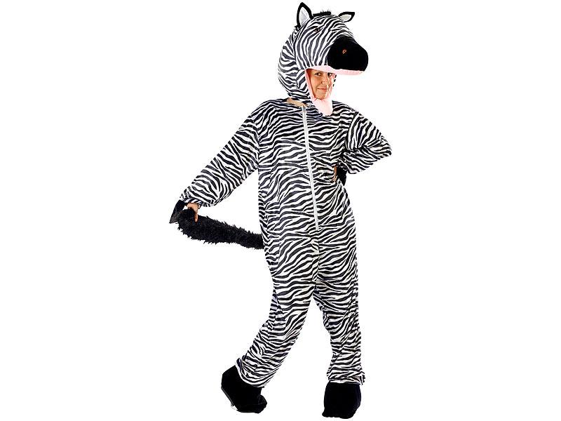 Infactory Fasnacht Kostume Halloween Faschings Kostum Zebra