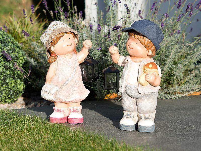 Royal gardineer gartenfiguren handbemalte deko figur for Gartenfiguren tiere kunststoff