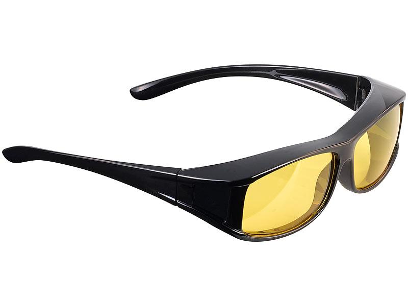 2cf10a5dad6fa5 Kontrastbrille: PEARL Überzieh-Nachtsichtbrille