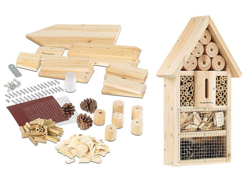 pearl insektenhaus insektenhotel bausatz nistkasten und schutz f r n tzlinge insektenhotel. Black Bedroom Furniture Sets. Home Design Ideas