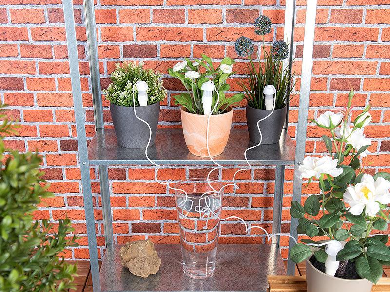 royal gardineer topfpflanzen bew sserungs system mit tonspitze und schlauch 5er set. Black Bedroom Furniture Sets. Home Design Ideas