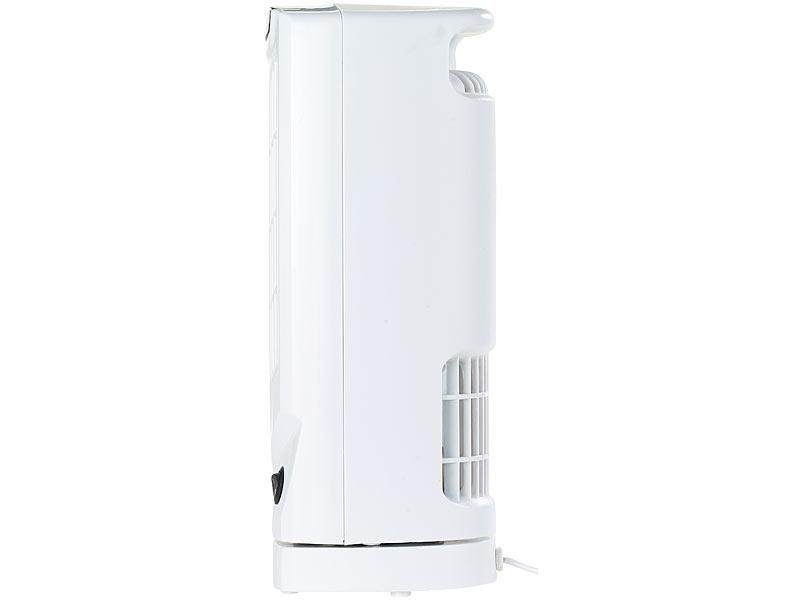 sichler rotorloser ventilator tisch s ulenventilator vt. Black Bedroom Furniture Sets. Home Design Ideas