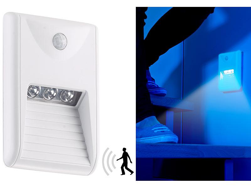 lunartec led treppenlicht led treppenleuchte nachtlicht. Black Bedroom Furniture Sets. Home Design Ideas