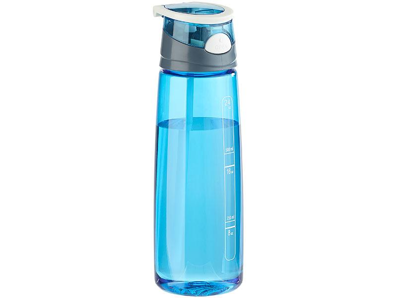 pearl sports trinkflasche bpa frei bpa freie kunststoff trinkflasche mit einhand verschluss. Black Bedroom Furniture Sets. Home Design Ideas