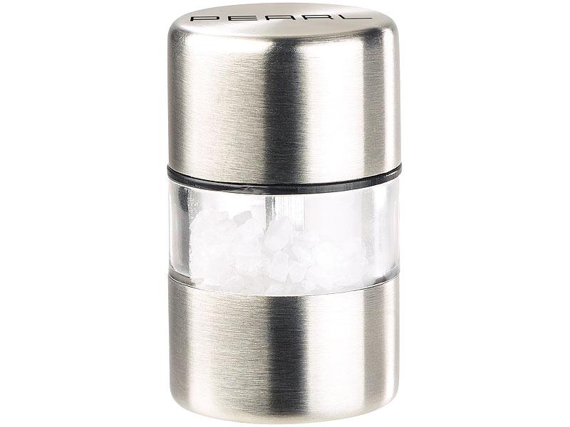 Mini Salzstreuer pearl salzstreuer mini salz pfeffermühle edelstahl