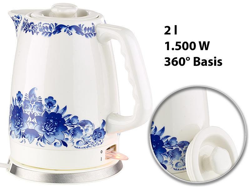 wasserkocher keramik preisvergleich die besten angebote online kaufen. Black Bedroom Furniture Sets. Home Design Ideas