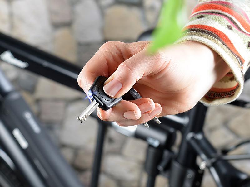 AGT Fahrradschlösser: Extrastabiles Bügelschloss, 16 mm