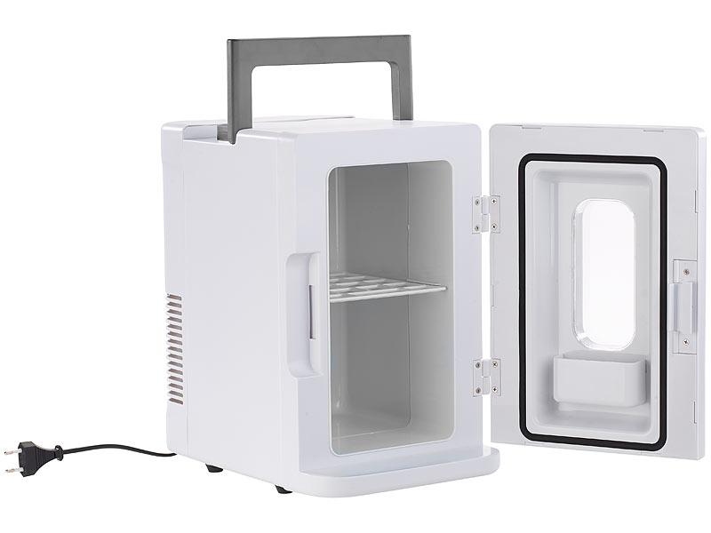 rosenstein s hne mobiler mini k hlschrank mit w rmefunktion 12 230 v 8 liter. Black Bedroom Furniture Sets. Home Design Ideas