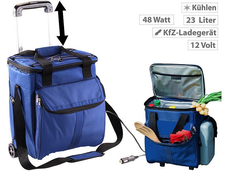 Xcase Mini Kühlschrank : Xcase kühltasche: thermoelektrischer kühltrolley mit teleskop griff