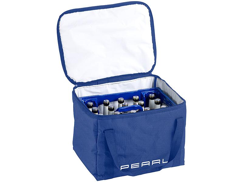 pearl isolierte k hltasche verst rkter trageriemen f r bierk sten 30 liter. Black Bedroom Furniture Sets. Home Design Ideas