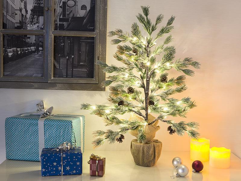 britesta weihnachtsbaum deko nadelb umchen im topf mit. Black Bedroom Furniture Sets. Home Design Ideas