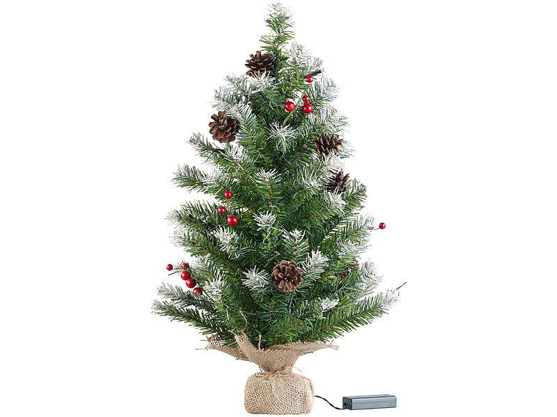 britesta weihnachtsbaum klein deko weihnachtsbaum mit 30. Black Bedroom Furniture Sets. Home Design Ideas