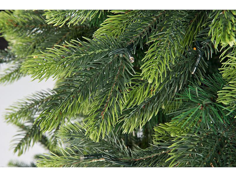 Infactory Kunstlicher Weihnachtsbaum Mit 500 Leds Und 70 Asten 225