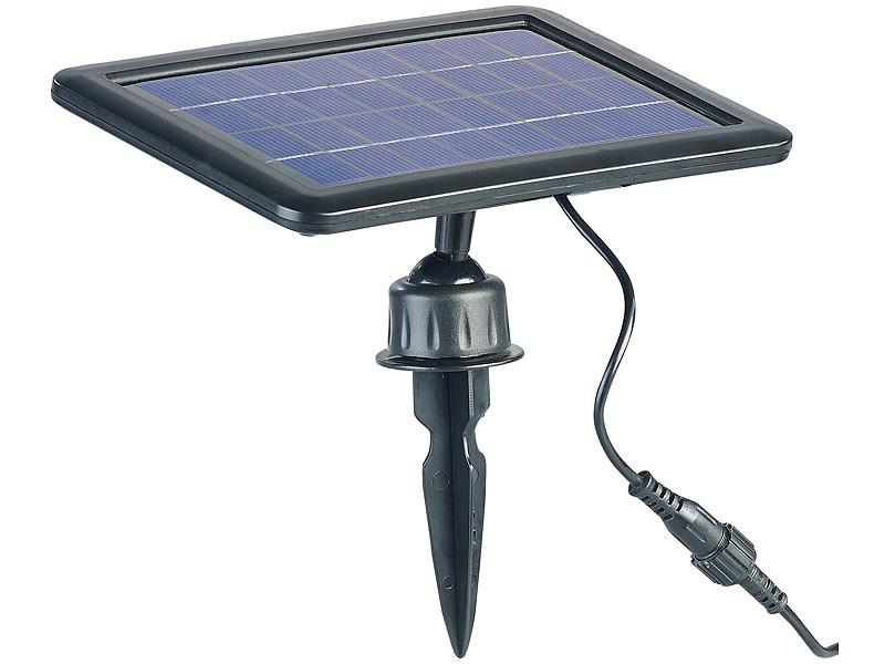 royal gardineer solarpumpe teich und springbrunnen pumpe mit 2 watt solarpanel und akkubetrieb. Black Bedroom Furniture Sets. Home Design Ideas