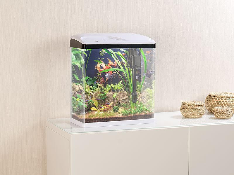 Gut bekannt Sweetypet Fischbecken: Nano-Aquarium-Komplett-Set mit LED OY79