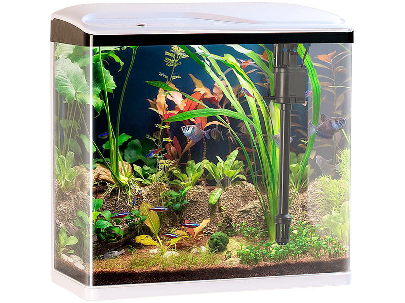Berühmt Sweetypet Aquarien Komplettsets: Nano-Aquarium-Komplett-Set mit FH82