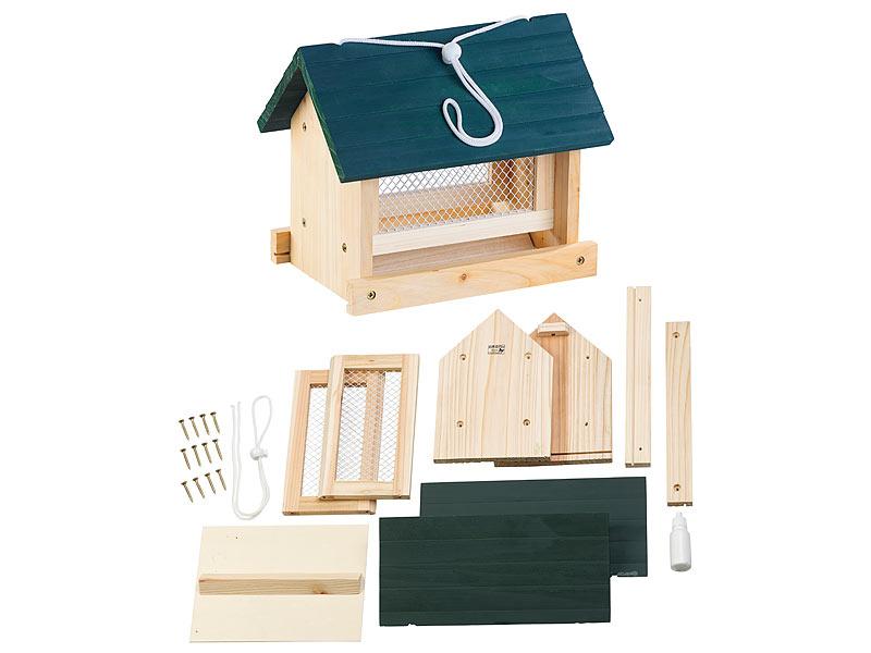 Royal Gardineer Vogelhaus Bausatz Vogel Futterhaus Bausatz Mit