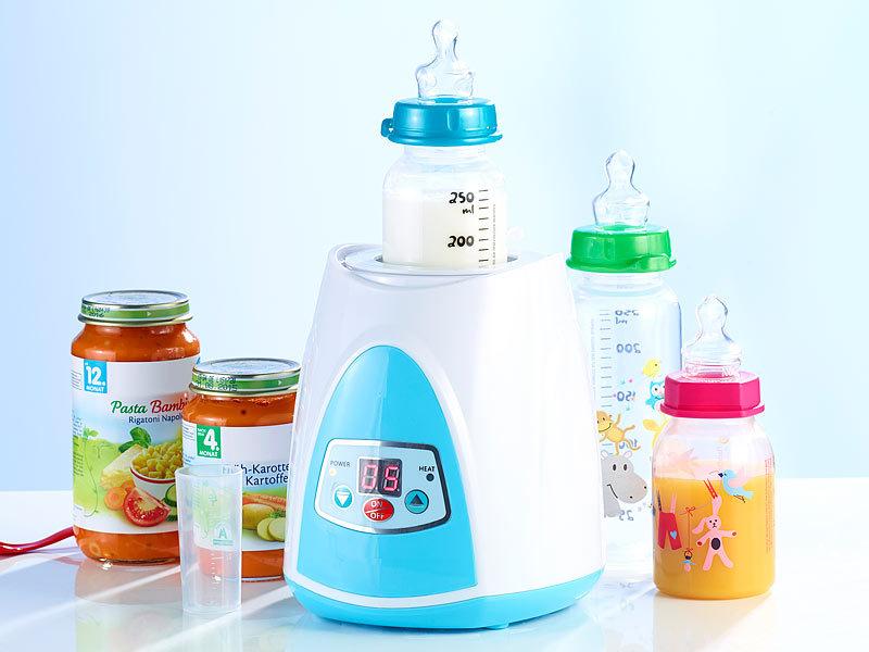 Fläschchen Babykostwärmer und Babykost-Wärmer mit LCD-Display