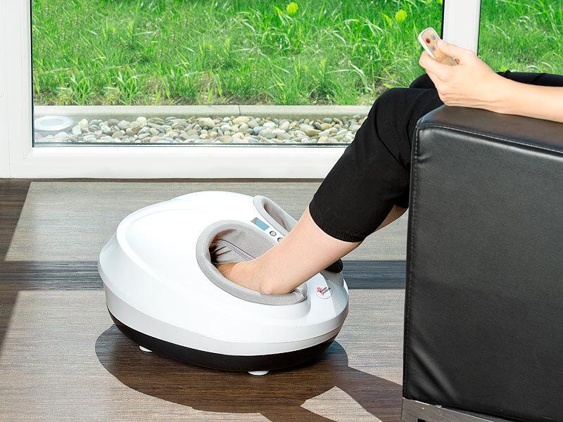 newgen medicals Fussmassage: Fußmassagegerät mit Wärmefunktion und ...