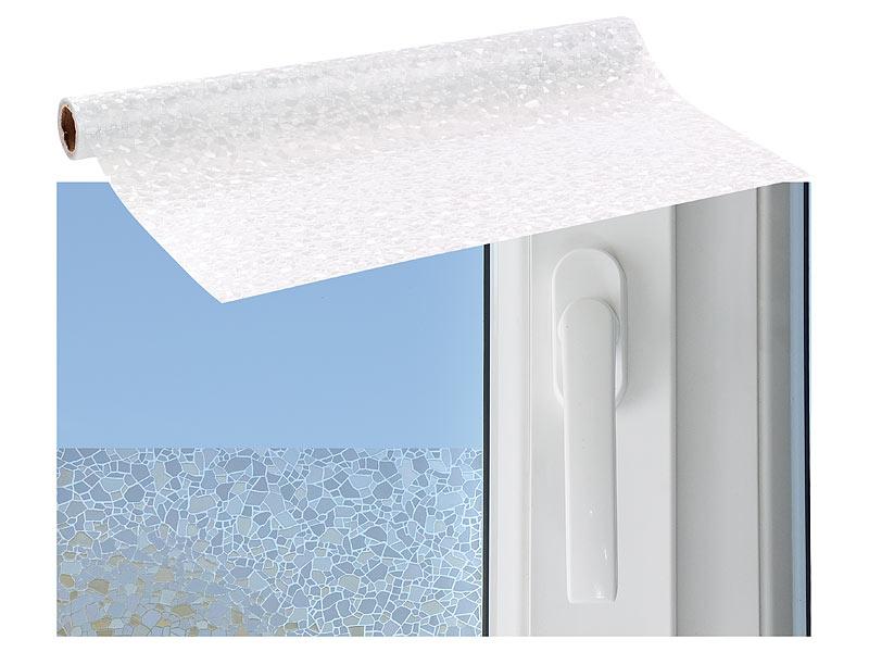 Infactory glasfolie 3d sichtschutz folie splitter - Fensterfolie statisch anbringen ...