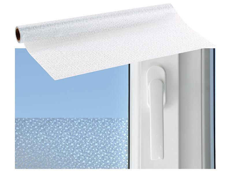 infactory sichtschutzfolie fenster sichtschutz folie mini mosaik statisch haftend 45 x 200. Black Bedroom Furniture Sets. Home Design Ideas
