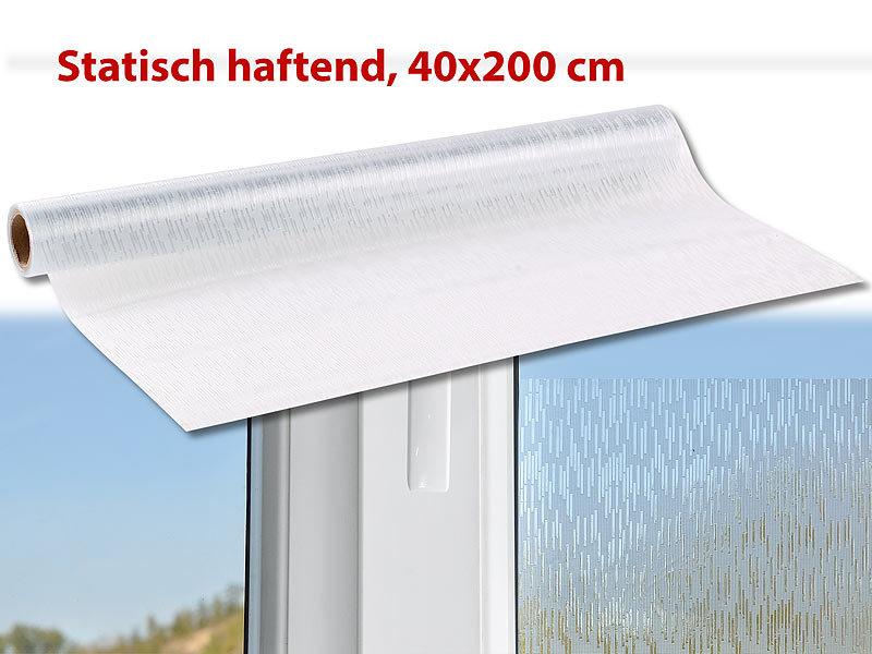 infactory sichtschutzfolie muster sichtschutz folie leinen grob statisch haftend 40x200 cm. Black Bedroom Furniture Sets. Home Design Ideas