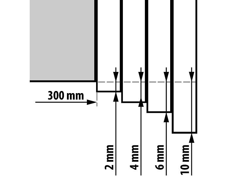 rosenstein s hne nudelholz h henverstellbarer teigroller mit anti haft effekt bpa frei 30. Black Bedroom Furniture Sets. Home Design Ideas