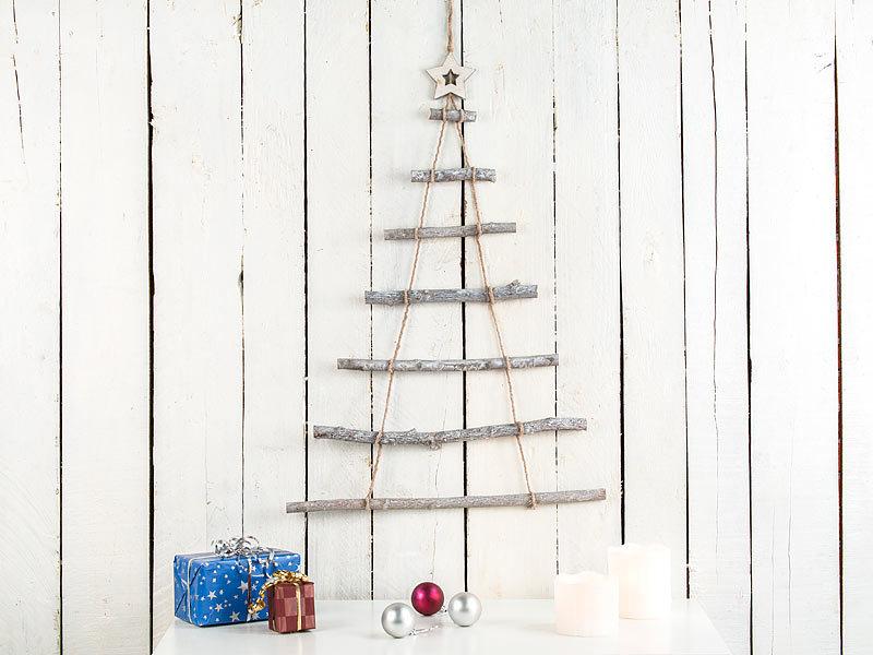 Holz Tannenbaum Groß.Britesta Weihnachtsbaum Holz Deko Holzleiter In Weihnachtsbaum Form