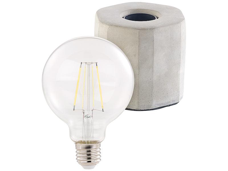RETRO LED Deko Tisch Leuchte Wohn Schlaf Zimmer Filament Lampe batteriebetrieben