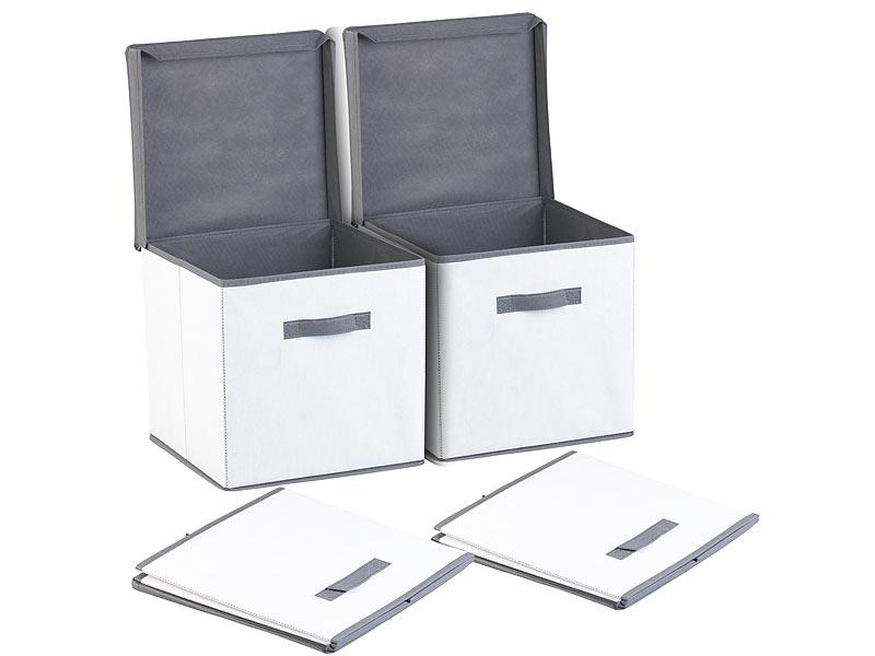 Pearl Ordnungshelfer Schrank 2er Set Aufbewahrungsboxen Mit Deckel