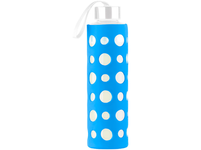 Pearl Schul Trink Flasche Blaue Silikonhülle Für Trinkflasche Aus