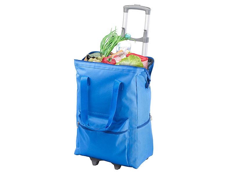 Mini Kühlschrank Pearl : Pearl einkaufstrolley: 2in1 xxl einkaufs kühltasche mit abnehmbarem
