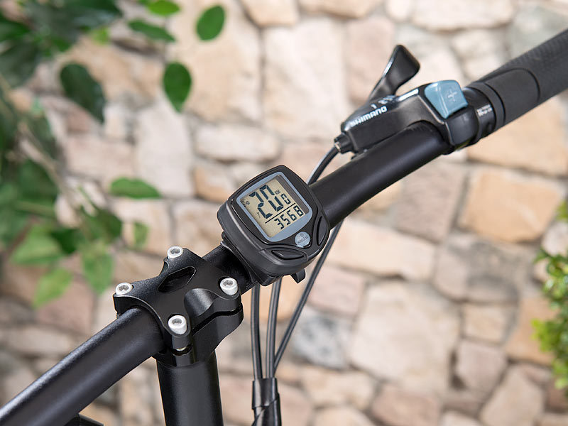 pearl sports fahrradtacho digitaler 15in1 fahrrad. Black Bedroom Furniture Sets. Home Design Ideas