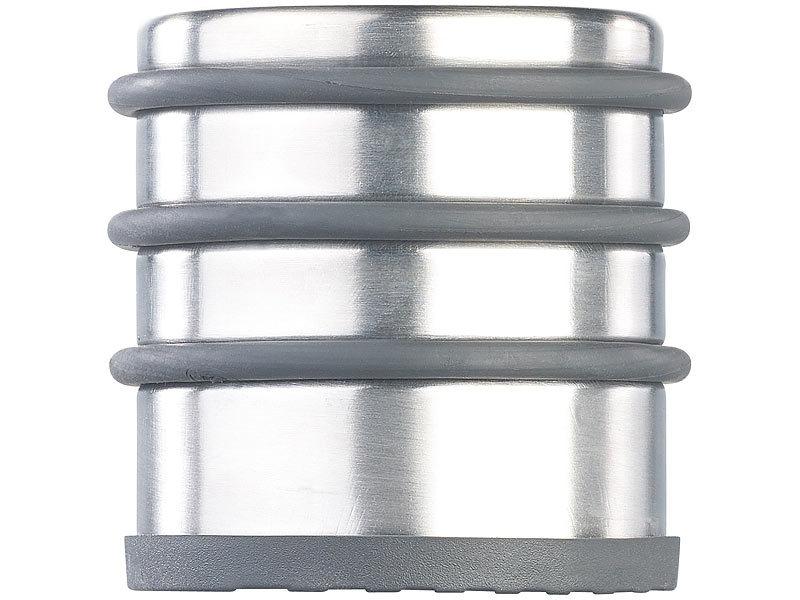 Tür Knallen Stopper infactory türstopper: edelstahl-tür-stopper mit 3 gummiringen, anti