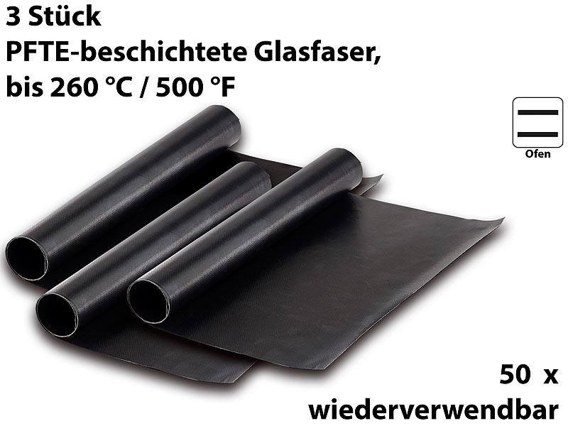 Rosenstein & Söhne Grillfolie: Dauer-BBQ-Grillmatte & Antihaft ...