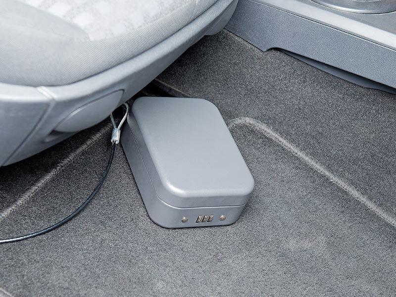 Xcase Mini Kühlschrank : Xcase autotresor: mini stahl safe für reise & auto zahlenschloss