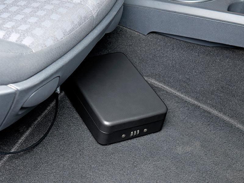 Xcase Mini Kühlschrank : Xcase reisesafe: mini stahl safe für reise & auto zahlenschloss