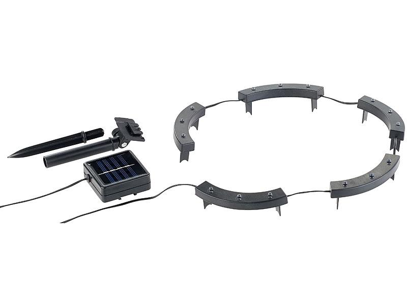 lunartec solar rundum licht f r pflanzen 15 leds. Black Bedroom Furniture Sets. Home Design Ideas