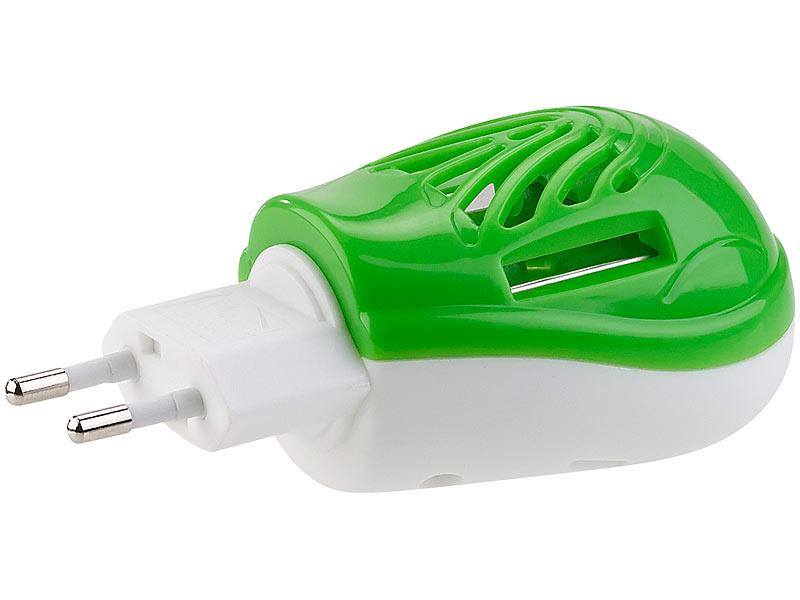 Pearl elektro mückenstecker inkl. 60 wirkstoffplättchen für 720 std